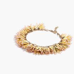 Fireburst necklace : Jewelry Shop   J.Crew
