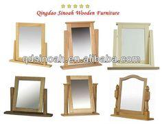 Sinoah solid wood dresser mirror/table mirror $1~$500