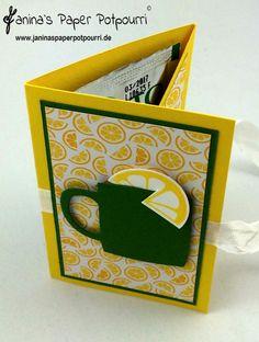 jpp - Mitbringsel heiße Zitrone / Gute Besserung / Lemon Sip Goodie / get Well / Stampin' Up! Berlin / Vollkommene Momente / Noch ein Tässchen / Have a Cuppa www.janinaspaperpotpourri.de