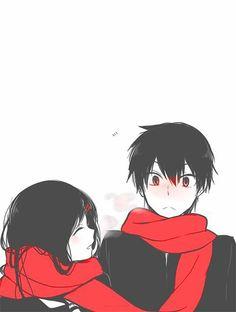 I´m a 22 years old girl and i love Anime, Mangas and Games. Manga Anime, Art Manga, Art Anime, Manga Couple, Anime Love Couple, I Love Anime, Anime People, Anime Guys, Couples Anime