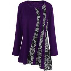 GET $50 NOW | Join Dresslily: Get YOUR $50 NOW!http://m.dresslily.com/printed-asymmetric-t-shirt-product1932242.html?seid=jhECKM24pGAUnr42jSn86A9U64