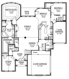 1000 Images About Floor Plans On Pinterest Home Plans