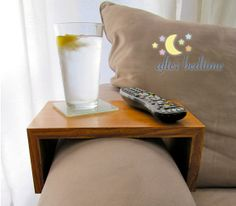 Arm Rest Table by AfterBedtime on Etsy