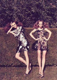 #fashion #photography #editorial #topiary #summer