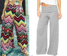 Calça pantalona cós largo de malha – DIY – molde, corte e costura – Marlene Mukai