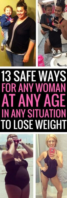 13 safe and effective ways for women to lose weight,
