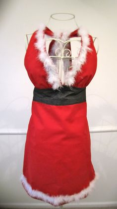 Miss Santa Apron by LibbyandLee on Etsy, $29.95  This is adorable!!!