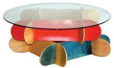 19 handgemachte eindrucksvolle Skateboard Erzeugnisse  - http://wohnideenn.de/selber-machen/11/handgemachte-eindrucksvolle-skateboard-erzeugnisse.html #Selbermachen
