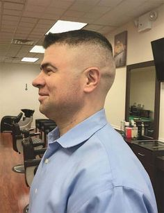 In need of a new look that is trendy and chic? Go for these high and tight haircuts that have got all you to look elegant and refined. High And Tight Fade, High And Tight Haircut, Flat Top Haircut, Fade Haircut, Mens Hairstyles Fade, Side Hairstyles, Men's Hairstyle, Hot Haircuts, Popular Haircuts