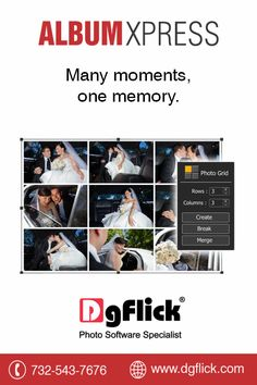 Get all your memories, in one image, on a single page, to recreate that moment, only with the #AlbumXpress by #DgFlickGet a free trial now http://goo.gl/zdRVH9Or you can buy it at #BHSuperStore http://goo.gl/usNJ0W