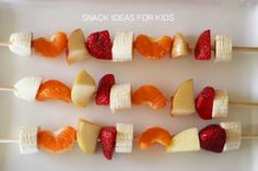 5 Snack ideas for kids // The Veggie Mama
