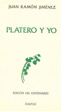 Jiménez, J.R. Platero y yo