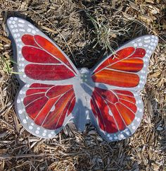 Butterfly stepping stone, via Flickr.