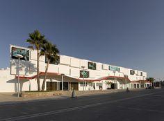 Ushuaïa Ibiza Beach Hotel (main façade, made of backlighted DuPont™ Corian® cubes), design Estudio Vila 13; Photo: Fiesta Hotel Group, all rights reserved. #corian