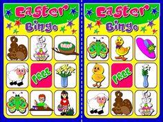 EASTER BINGO (20 CARDS)