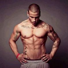 Yummy. Men with tattoos and gauges.