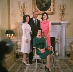 President Lyndon and First Lady Ladybird Johnson Lynda and Luci. American Presidents, Us Presidents, American History, First Lady Portraits, Texas Texans, Political Figures, Before Us, Former President, Civil Rights