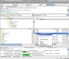 FileZilla for Mac OS X 3.10.3 FileZilla Client is a fast and reliable cross-platform FTP, FTPS and SFTP client with lots of useful features and an intuitive graphical user interface. #computers #software #freeware #MAC