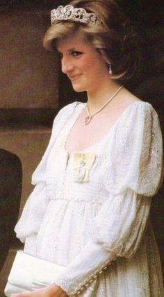 Princess Diana,  pregnant with Harry