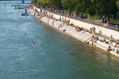 Basel top things to do - Swim in the Rhine River - Copyright  dingsdale Basel European Best Destinations #Basel #Ebdestinations#travel #Switzerland