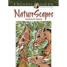 Creative Haven® NatureScapes Coloring Book