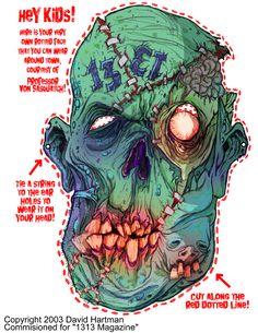 MASK OF THE DEAD by Hartman by sideshowmonkey on deviantART