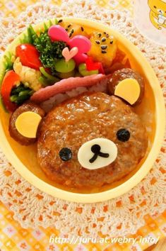 I really want someone to make me a bento Bento Box Lunch For Kids, Bento Kids, Cute Bento Boxes, Lunch Ideas, Japanese Lunch, Japanese Dishes, Japanese Food Art, Bento Recipes, Baby Food Recipes