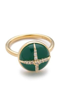 Elizabeth and James Northern Star Cabochon Ring- this has to be the prettiest ring in the world for fall.