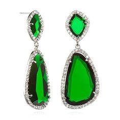 Asymmetric Two Tier Emerald Drop Earring, http://www.amazon.com/dp/B00B76WOXM/ref=cm_sw_r_pi_awdm_0wqWtb04C4EME