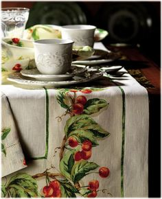 tuscan table cloths - Google Search