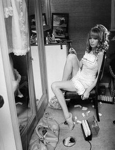 Pattie Boyd for Vogue, 1967. Photo by Norman Parkinson. via Indy Pendent Thinking