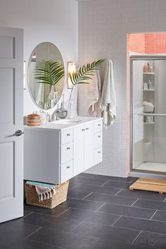 Get your bathroom organized – and keep it that way – with Sterling's STORE+ Shower System.