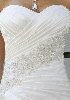 Detalhe - Vestido de casamento