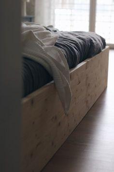 DIY floor bed   Familienbett einfach selbst bauen