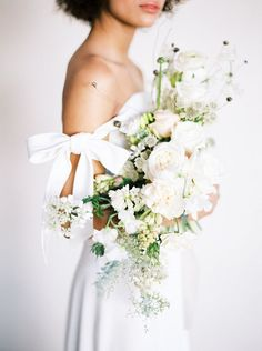 Contemporary Indoor Spring Wedding Inspiration by Whiskers and Willow Photography | Wedding Sparrow