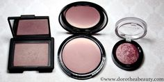NARS Blush in Sin, NYX Ombre Blush in Mauve Me and Max Factor Creme Puff Blush in Gorgeous Berries