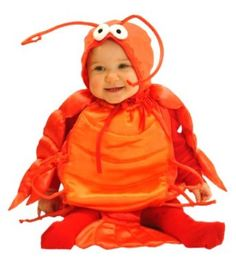 Mullin's Square Lobster costume - This is what Will will be for Halloween. :)