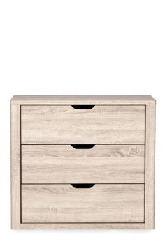 Oak Effect Compton Chest.  Could use as beside cabinets with small wardrobes.  Offers guests drawers for clothes.