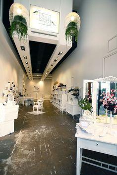 Head Over Heels Pop up stores by U LA LA Events, Madrid, Barcelona store design