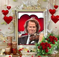 Andre Rieu Wallpapers by Alyse Backgrounds, Wallpapers, Frame, Decor, Musik, Picture Frame, Decoration, Wallpaper, Decorating