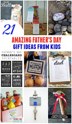 21 amazing fathers day gifts from kids
