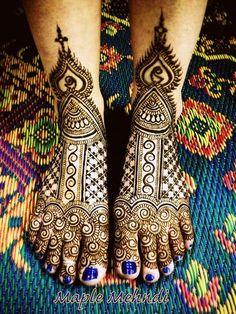 Adding Beautiful Henna Tattoo As A New Fashion Art