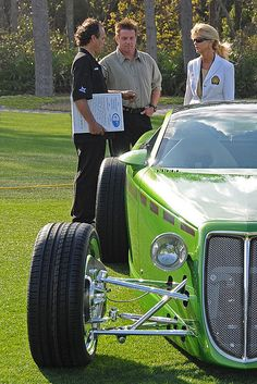Chip Foose and the Foose Coupe. I LOVE this man, I wish I could live in that amazing mind of his