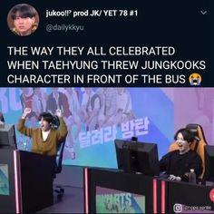 Bts Funny Videos, Bts Memes Hilarious, Kookie Bts, Bts Taehyung, Bts Playlist, Cypher Pt 4, Bts Tweet, Album Bts, Run Bts