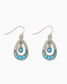 charming charlie | Teardrop Promenade Earrings | UPC: 410003719500 #charmingcharlie