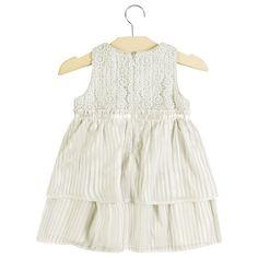Vestido Festa Bebê e Infantil em Voil Milon Premium