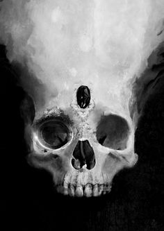 Nice skull picture. It is hot.