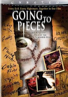 DVD. The ultimate anthology that takes you on a horrifying journey through your favorite slasher films, including Halloween; Psycho; Friday the 13th; Prom Night; and many more. Guides you through a series of gruesome scenes from classic films and recent hits.
