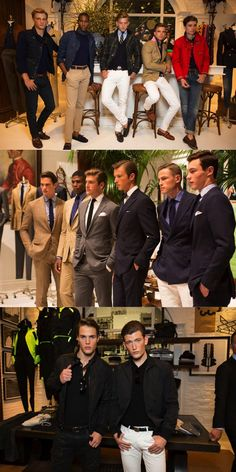 Highlights from the Polo Ralph Lauren Men's NYFWM presentation. Rooted in a fine-tuned heritage story, timeless staples are updated for the modern man.