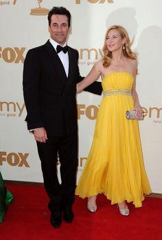 Jon Hamm & Jennifer Westfeldt.